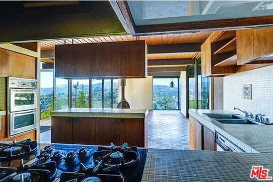 1960s Raul Garduno-designed hillside midcentury property in Los Angeles, California, USA