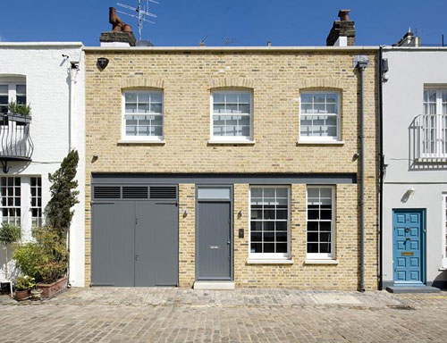 Hyde Park Gardens Mews house in London W2