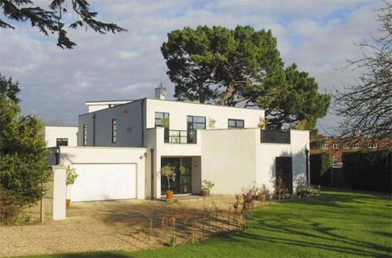 On the market: Five-bedroom contemporary modernist property in Lymington, Hampshire