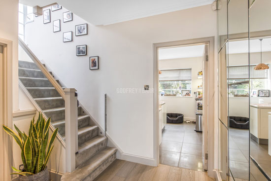 1930s grade II-listed art deco property in Lytton Close, London N2