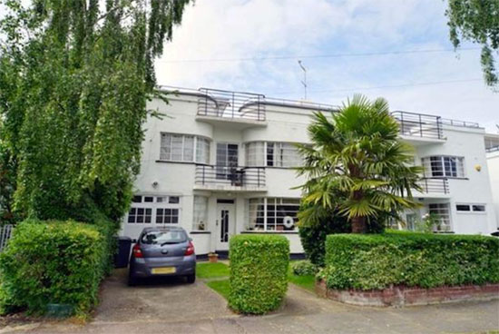 On the market: 1930s grade II-listed art deco house in Hampstead Garden Suburb, London N2