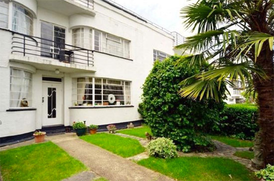1930s grade II-listed art deco house in Hampstead Garden Suburb, London N2