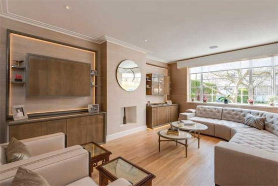 1930s grade II-listed art deco property in Hampstead Garden Suburb, London N2