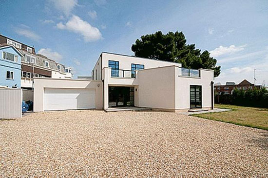 On the market: Bath Lodge art deco-style five-bedroomed property in Lymington, Hampshire
