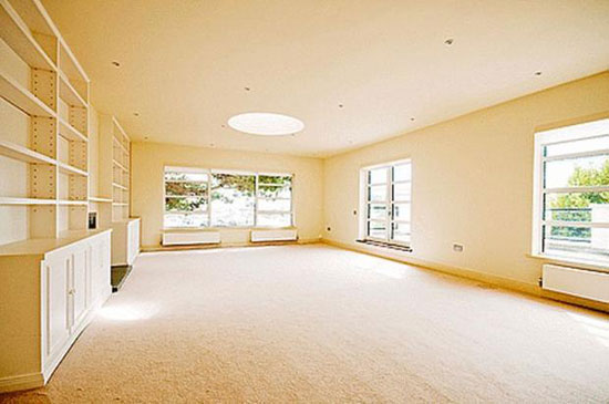 Bath Lodge art deco-style five-bedroomed property in Lymington, Hampshire