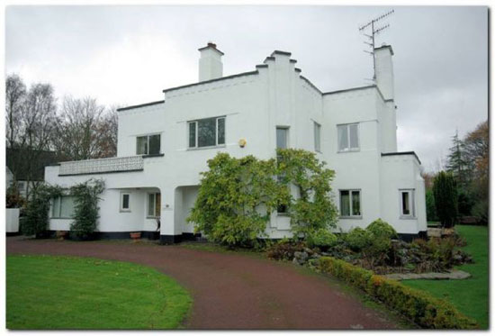 Greenridges 1930s art deco house in Lytham St Annes, Lancashire