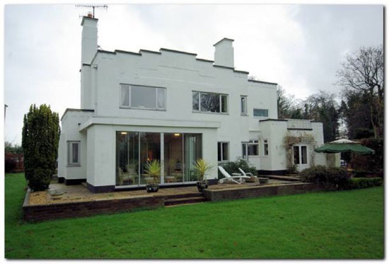 Greenridges art deco house in Lytham St Annes, Lancashire
