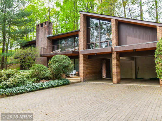 On the market: 1960s midcentury modern property in Alexandria, Virginia, USA