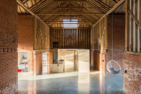 Barn conversion: David Nossiter-designed property in Assington, Suffolk
