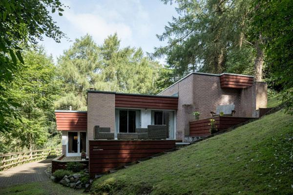 1960s Joseph Blackburn modern house in Melrose, Scottish Borders