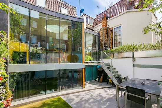 On the market: Two-bedroom architect-designed property in London W8