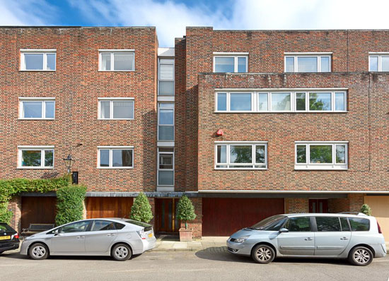 On the market: 1970s Fry Drew & Partners-designed modernist property in London W14