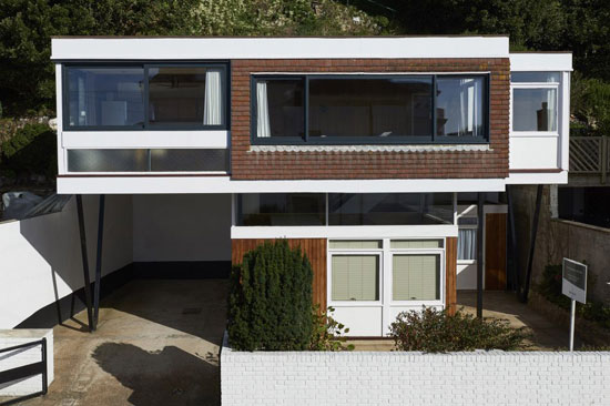 On the market: 1960s John Floydd-designed midcentury-style property in Sandgate, Kent