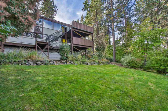 Time capsule for sale: 1950s Royal McClure-designed Cornelius House in Spokane, Washington, USA