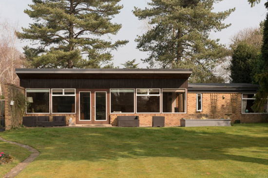 On the market: 1960s Peter & Beryl Harrison-designed midcentury property on Maresfield, East Sussex