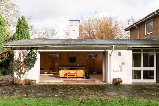 1960s Dennis Darbison midcentury modern house in Maidstone, Kent