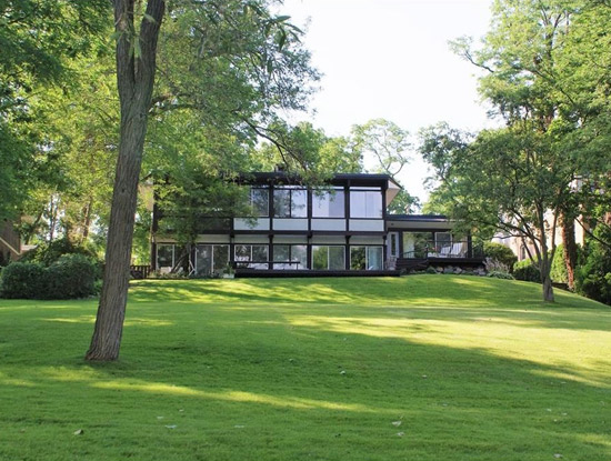 On the market: 1960s midcentury modern property in Bloomfield Hills, Michigan, USA