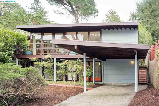 On the market: 1950s midcentury modern property in Berkeley, California, USA
