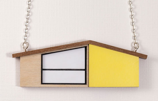Design spotting: Midcentury modern house jewellery by Tiny Scenic