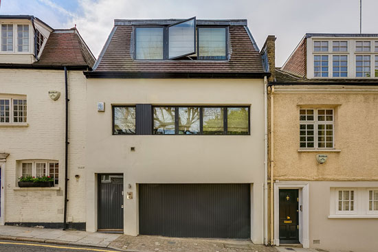 Two-bedroom architect-designed property in London W8