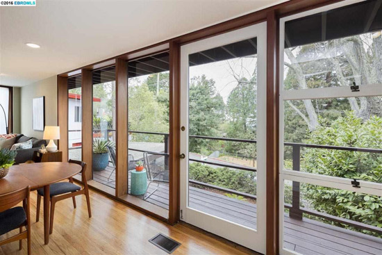 1950s midcentury modern property in Berkeley, California, USA