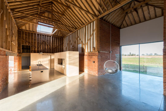 Barn conversion: David Nossiter-designed property in Assington, Suffolk