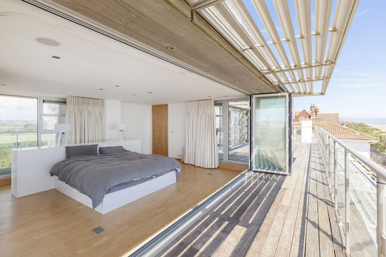 Coastal modernism: Six-bedroom property at Cooden Beach, Bexhill, East Sussex