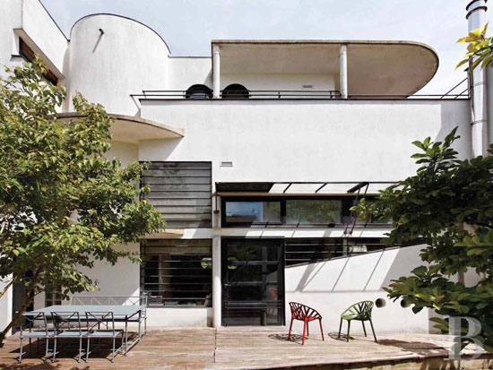 On the market: Robert Mallet-Stevens-inspired modernist property in Suresnes, near Paris, France