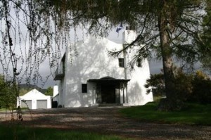 Charles Rennie Mackintosh-designed Artist's Cottage and Studio and South House in Inverness, Scotland