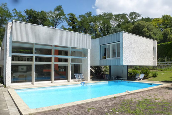 1960s Claude Calmettes modern house near Valence, France