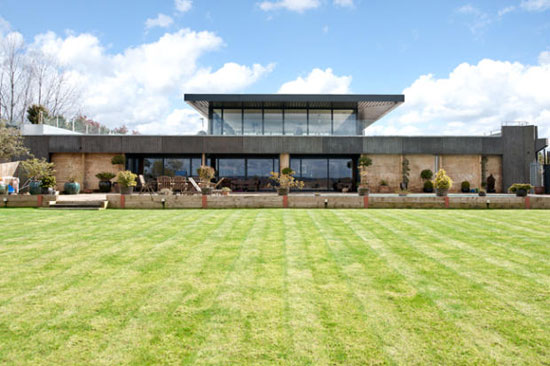 On the market: Five-bedroom contemporary modernist property in rural Maidstone, Kent