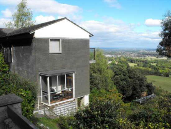 For sale: 1970s Wychewood four bedroom hillside house in Malvern, Worcestershire