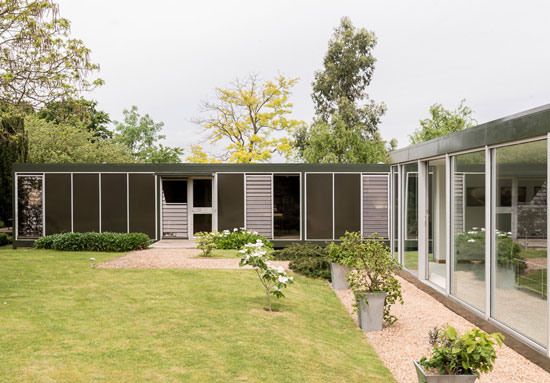 On the market: 1960s Michael Manser-designed single-storey modernist property in Ashtead, Surrey