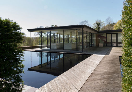 On the market: Michael Manser-designed contemporary modernist property in Broad Oak, East Sussex