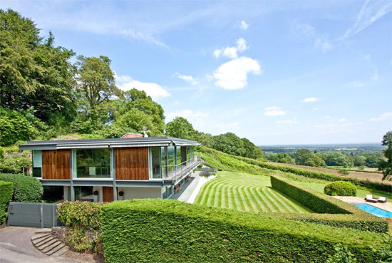 On the market: The Quell Michael Manser-designed modernist property in Haslemere, Surrey