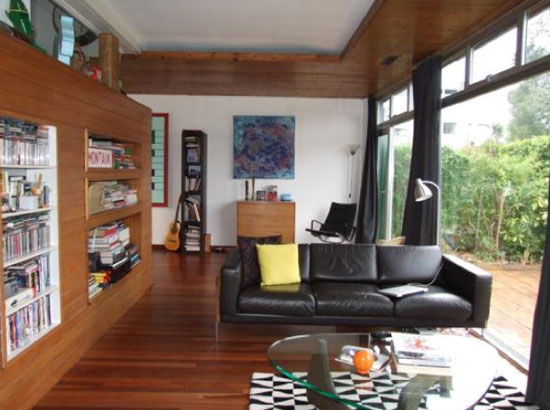 Edward Schoolheifer-designed three-bedroom modernist Lyon property in Manygate Lane, Shepperton, Middlesex