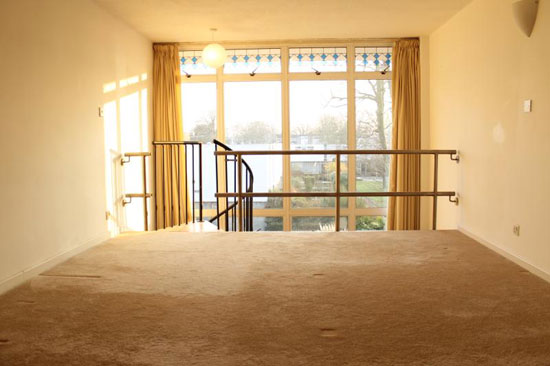 1960s two bedroom Edward Schoolheifer-designed modernist house in Shepperton, Middlesex