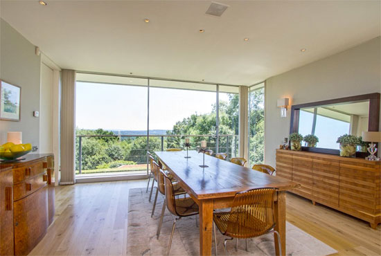 The Quell Michael Manser-designed modernist property in Haslemere, Surrey