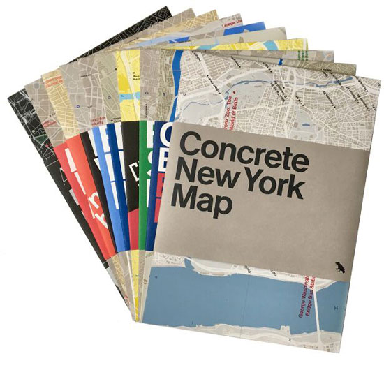 Concrete​ ​New​ ​York​ ​Map by Blue Crow Media. Image: Jason​ ​Woods​ ​for​ ​Blue​ ​Crow​ ​Media.