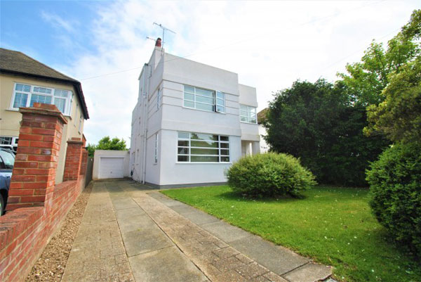 1930s art deco: Four-bedroom property in Margate, Kent