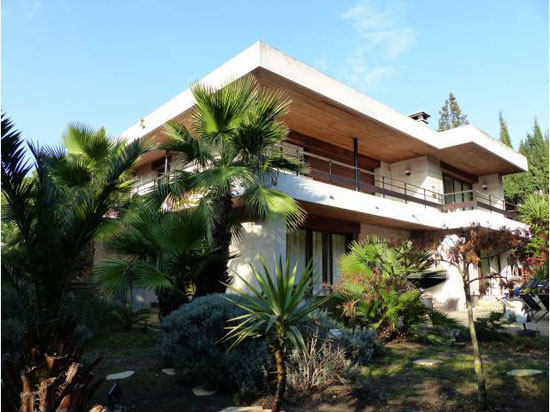 On the market: 1950s architect-designed modernist property in Marseille, south-east France