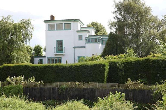 Grade II-listed Kiln Yard art deco property in East Farndon, near Market Harborough, Leicestershire