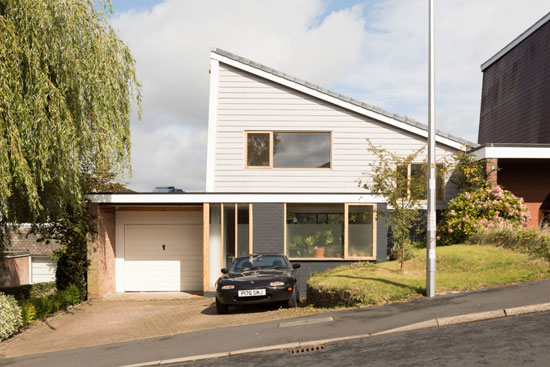 1960s modern house in Marple Bridge, Stockport, Cheshire