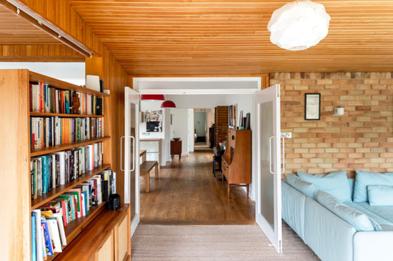 1960s Peter and Beryl Harrison midcentury modern house in Maresfield, East Sussex