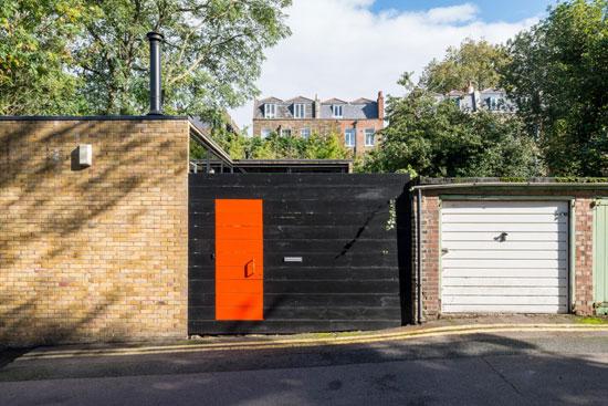 1970s Martin Crowley modern house in London SE5