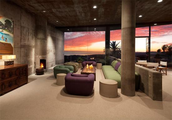 1970s Roland E. Coate Jr-designed modernist property in Santa Barbara, California, USA