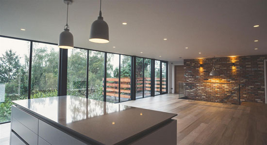 1970s modern house in Malvern, Worcestershire