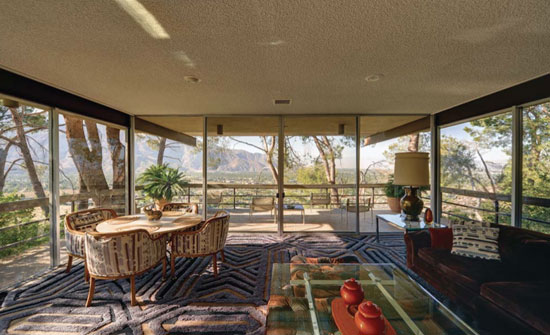 On the market: 1960s Hugh M. Kaptur-designed The McQueen House in Palm Springs, California, USA – the former home of Steve McQueen