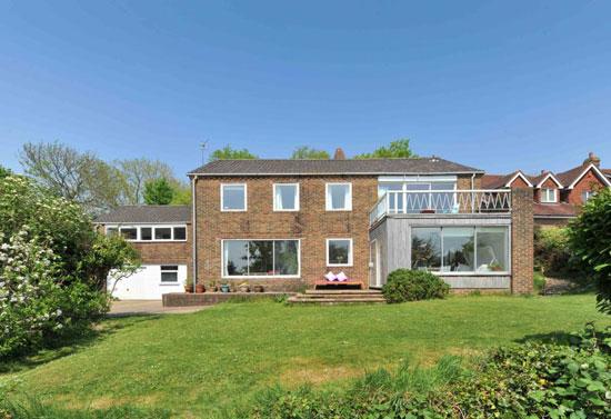 1960s midcentury modern property in Brighton, East Sussex