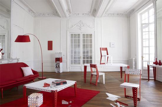 Meccano produces a home furniture range